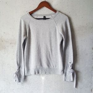 90 Degree Gray Pull Over